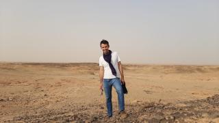 Gautier in Sudan Photo: WFP/Logistics Cluster