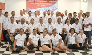 Media Image : Group photo from the Logistics Cluster Sub-Regional Workshop (Micronesia)