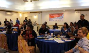Media Image : Warehousing exercise at Logistics Cluster Sub-Regional Workshop (Micronesia)